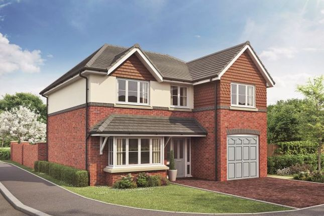 Thumbnail Detached house for sale in Westlow Heath, Congleton, Cheshire