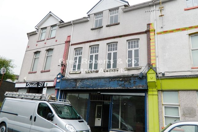 Thumbnail Retail premises for sale in Merchant Street, Pontlottyn, Caerphilly County