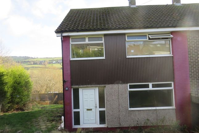 Thumbnail Semi-detached house for sale in Dene View, Luddendenfoot, Halifax