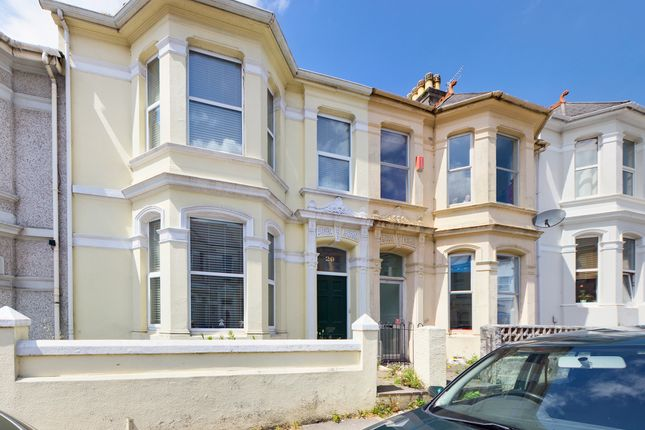 Thumbnail Terraced house to rent in Sea View Avenue, Plymouth