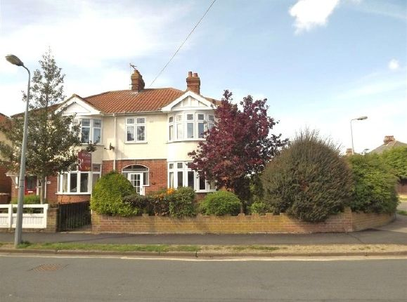 Thumbnail Semi-detached house to rent in Lattice Avenue, East, Ipswich