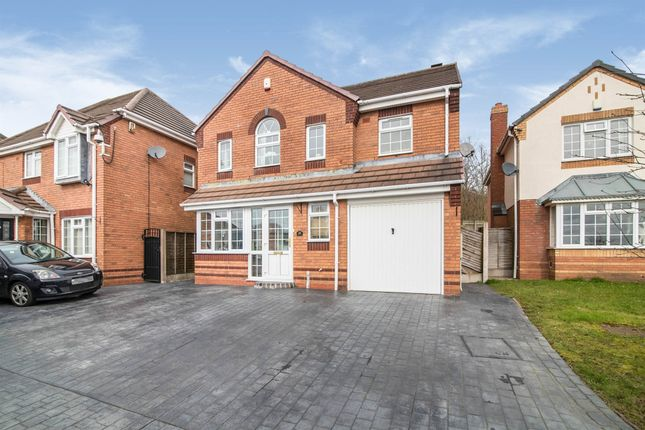 Thumbnail Detached house for sale in Berkswell Close, Dudley