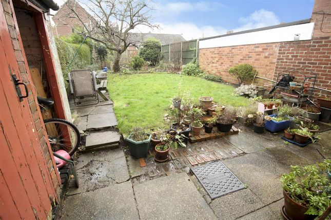 Garden (2) of Brookhill Street, Stapleford, Nottingham NG9