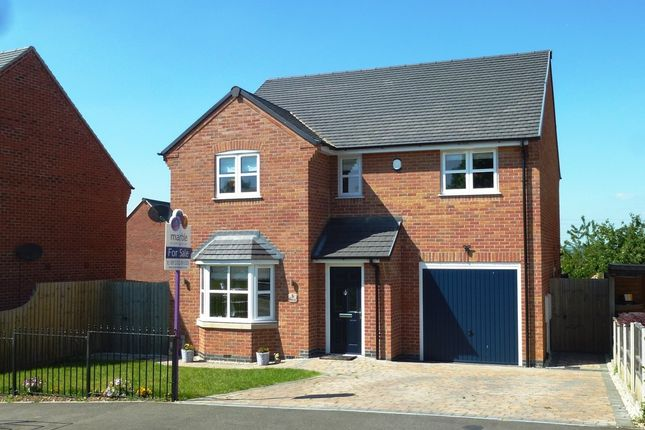 Thumbnail Detached house for sale in Roby Lea, Castle Donington, Derby
