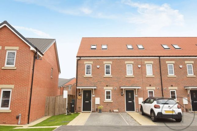 Thumbnail End terrace house for sale in Greener Drive, Darlington