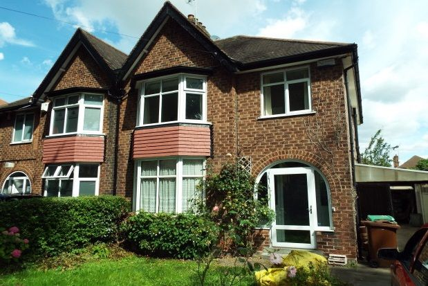 Thumbnail Property to rent in Russell Drive, Wollaton, Nottingham