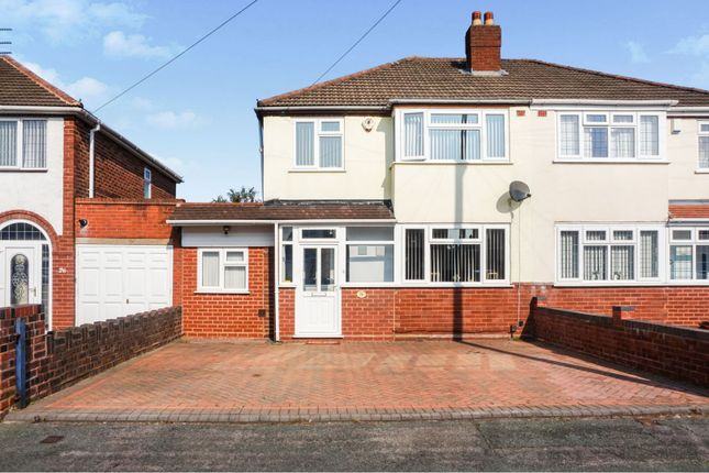 Thumbnail Semi-detached house for sale in Springhill Road, Wolverhampton