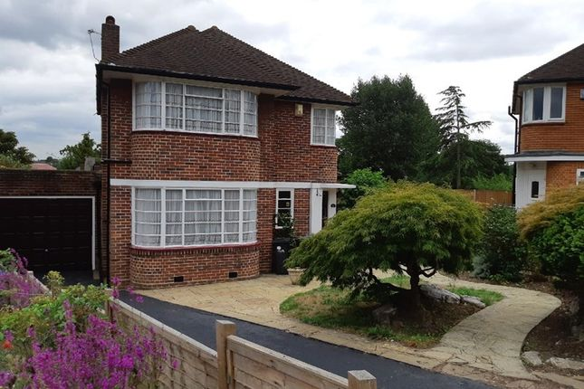 Thumbnail Detached house for sale in Greystoke Gardens, Oakwood, Enfield