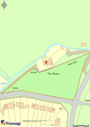 Thumbnail Land for sale in The Green, Elford, Tamworth