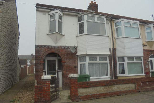 Thumbnail End terrace house to rent in Stride Avenue, Portsmouth