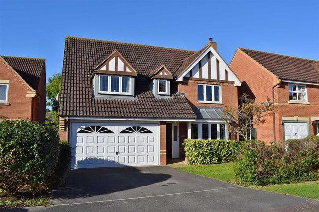 Thumbnail Detached house for sale in Cornbrash Rise, Hilperton, Trowbridge, Wiltshire