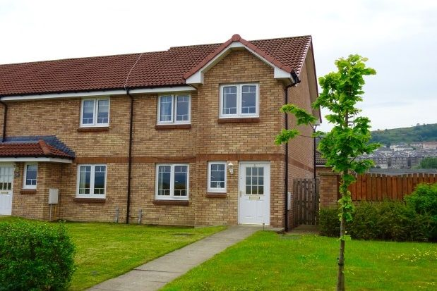 Thumbnail End terrace house to rent in Lithgow Way, Port Glasgow