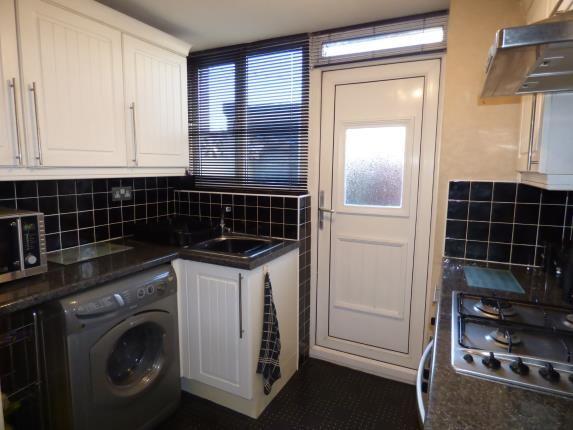 Kitchen of Wordsworth Street, Burnley, Lancashire BB12