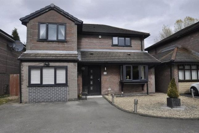 Thumbnail Detached house for sale in Foxley Close, Droylsden, Manchester
