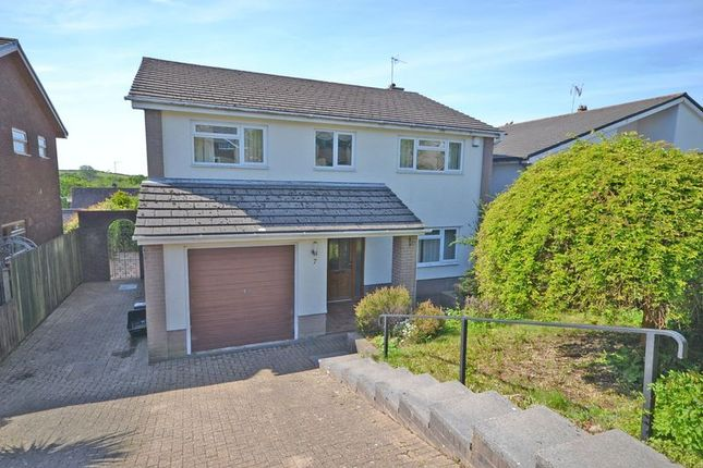Thumbnail Detached house to rent in Pant Glas Court, Bassaleg, Newport