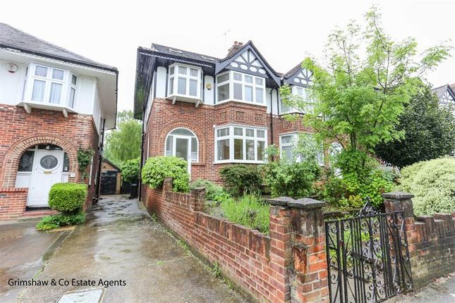 Thumbnail Semi-detached house to rent in Sandall Road, Greystoke Park Estate, Ealing