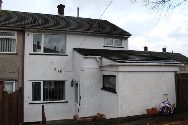 Thumbnail End terrace house for sale in Melbourne Court, Greenmeadow, Cwmbran