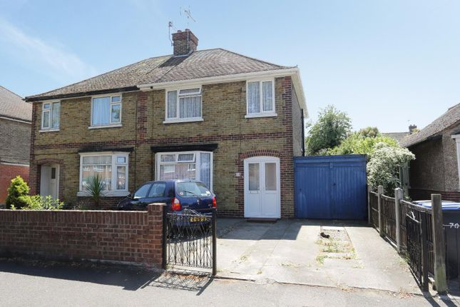 Thumbnail Semi-detached house for sale in Station Approach Road, Ramsgate