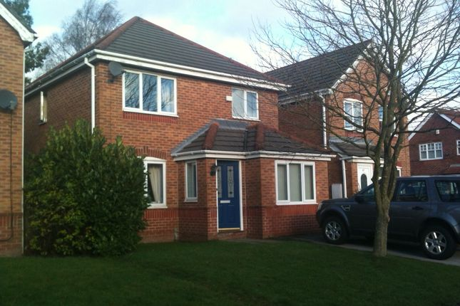 Thumbnail Detached house to rent in Canisp Close, Chadderton