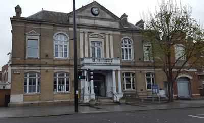 Thumbnail Commercial property for sale in Southall Town Hall, High Street, Southall