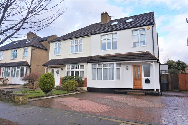 Thumbnail Semi-detached house for sale in The Brackens, Enfield