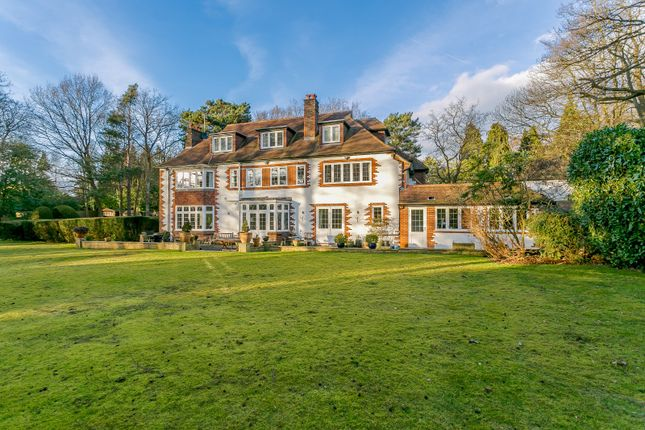 Thumbnail Detached house to rent in Cavendish Road, St. Georges Hill, Weybridge