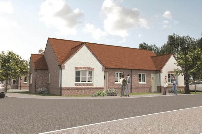 Thumbnail Semi-detached bungalow for sale in Church View, Hugglescote, Leicestershire