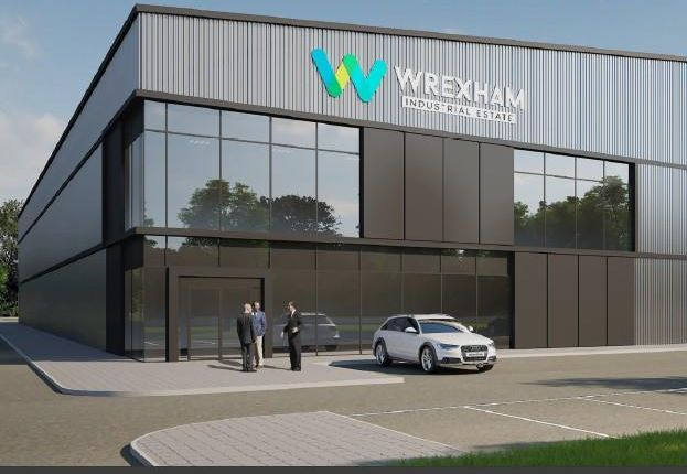 Warehouse to let in Site 3, Wrexham Industrial Estate, Wrexham, Wrexham