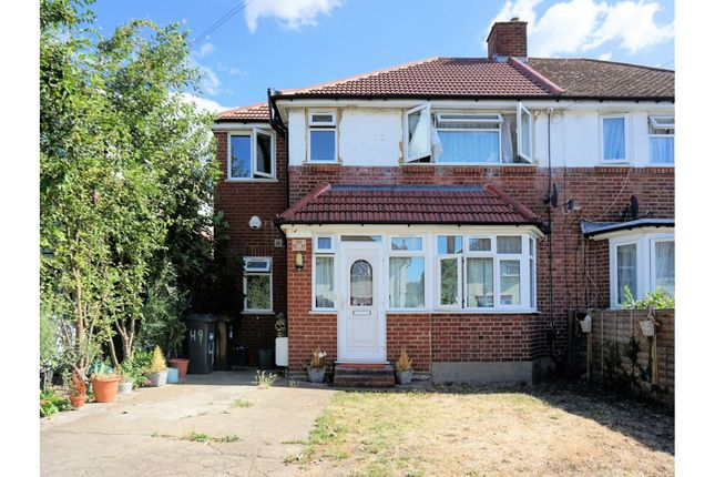 Thumbnail Semi-detached house for sale in Winchester Road, Feltham