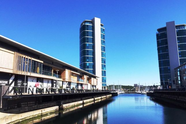 1 bed flat to rent in Chatham Quays, Dock Head Road, St. Marys Island, Chatham ME4