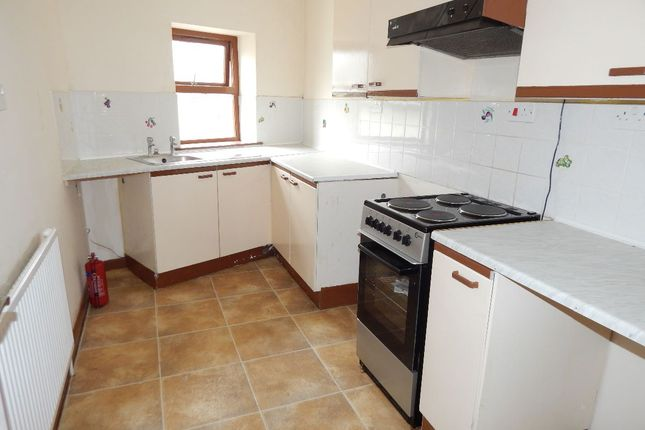 Thumbnail Flat to rent in High Street, Blaina