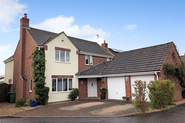 Thumbnail Detached house for sale in Gleed Close, Purton, Wilts