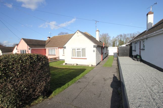 Thumbnail Semi-detached bungalow for sale in Hawkwell Road, Hockley