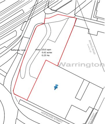 Thumbnail Land to let in Battersby Lane, Warrington