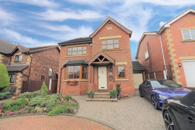 Thumbnail Detached house for sale in Elizabeth Close, Staining