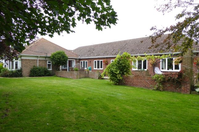 Thumbnail Detached bungalow for sale in Outwell - Nr Wisbech, Cambridgeshire