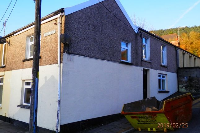 Thumbnail End terrace house for sale in Morris Street, Treherbert, Rhondda Cynon Taff.