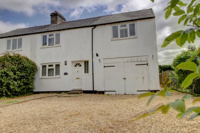 Thumbnail Semi-detached house for sale in Ely Road, Stretham, Ely