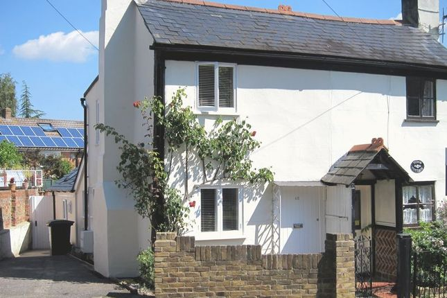 Thumbnail Semi-detached house for sale in Middle Hill, Englefield Green, Egham