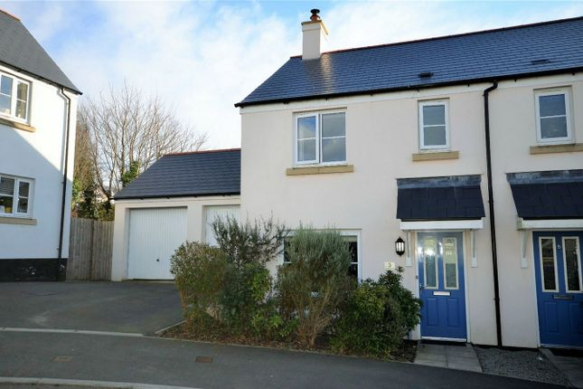 Thumbnail Semi-detached house for sale in Roseworthy Road, Shortlanesend, Truro, Cornwall