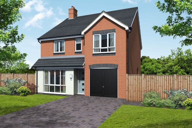 Thumbnail Detached house for sale in Newton Lane, Austrey, Atherstone