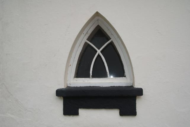 Window of Camelford, Cornwall PL32