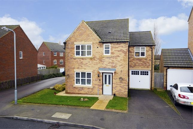 4 bed detached house for sale in Carlisle Close, Oakley Vale, Corby, Northamptonshire
