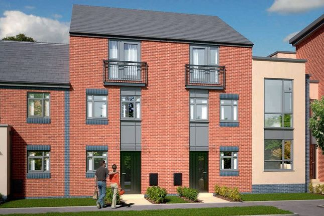 Thumbnail Town house for sale in The Dawlish, Plot 386 - Johnsons Wharf, Leek Road, Hanley, Stoke On Trent