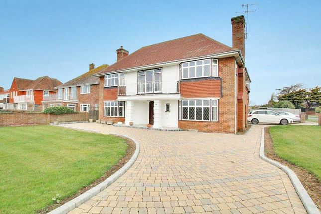 Thumbnail Detached house for sale in Marine Crescent, Goring-By-Sea, Worthing, West Sussex
