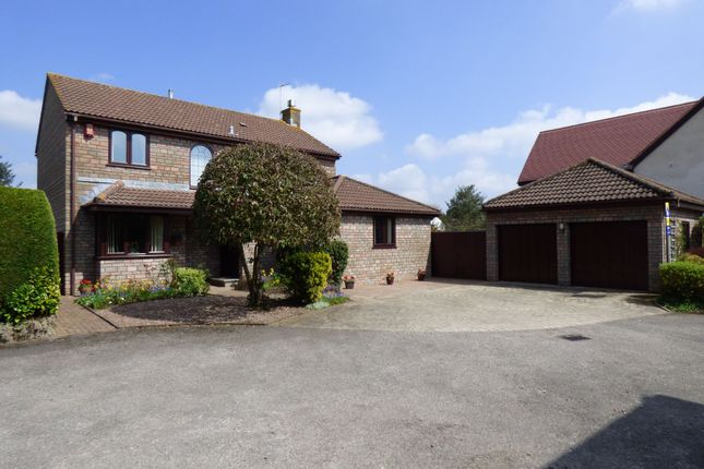 Thumbnail Detached house for sale in Conifer Close, Frampton Cotterell, Bristol