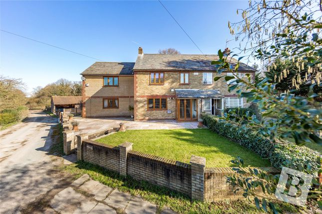 Thumbnail Semi-detached house for sale in Roydon Road, Harlow