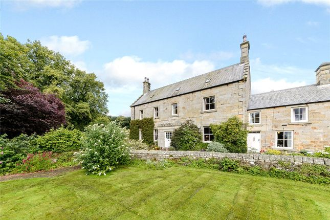 Thumbnail Detached house for sale in Cambo, Morpeth, Northumberland