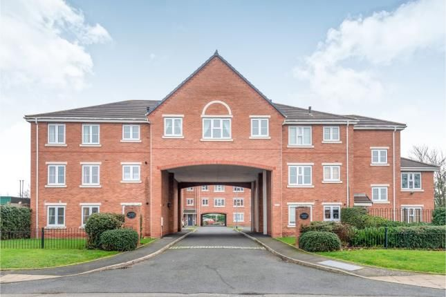 Thumbnail Flat for sale in Chalfont Court, Wolverhampton Road, Cannock, Staffordshire