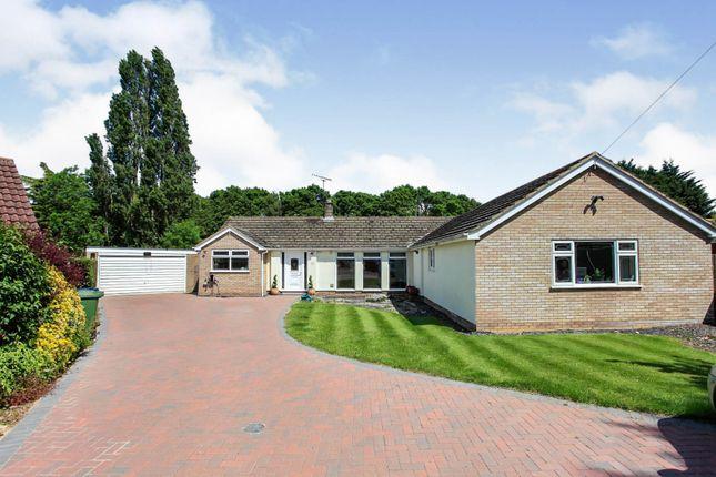 Thumbnail Detached bungalow for sale in Allerton Garth, Alwalton, Peterborough